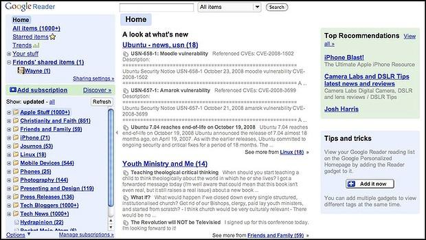 google readar
