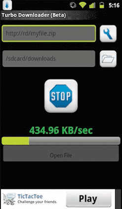 Turbo Downloader For Android Is A Free Download Manager