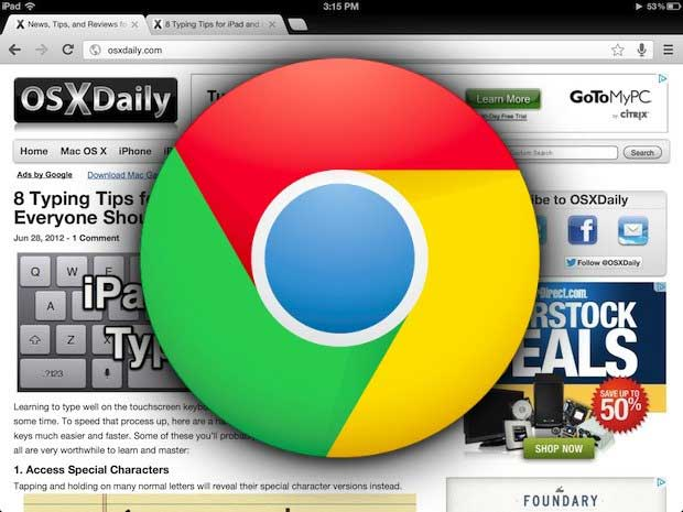 chrome-for-ipad