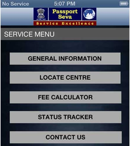 Indian Passport App