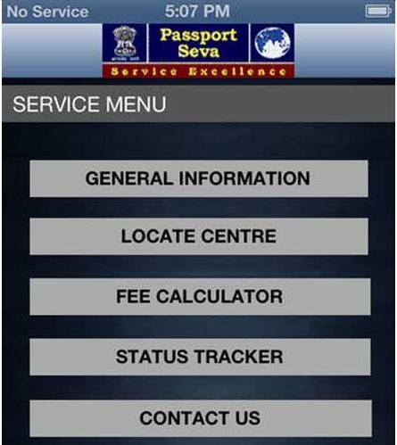 Indian Passport App